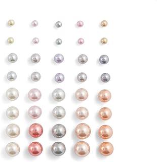 Aldo Earrings Set for Women, Multi Stones