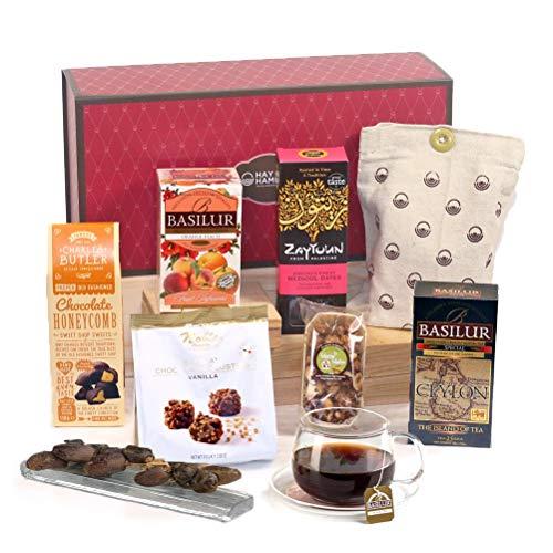 Hay Hampers Chai & Treats Halal Hamper Gift Box