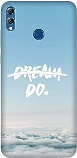 Cekuonline® Huawei Honor 8X Kılıf Desenli Esnek Silikon Kapak - Dream Do