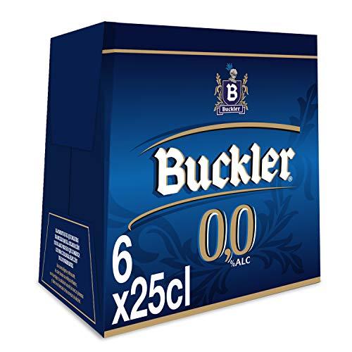 Buckler 00 Cerveza - Pack de 6 Botellas x 250 ml ( Total: 1.5 L)