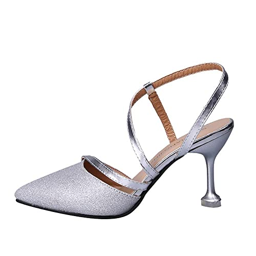 460e82edd4ed Lolittas Summer Stiletto Court Shoes for Women Ladies