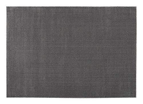OCI LOUVRE Melange Teppich 631 Anthra 65 x 130 cm