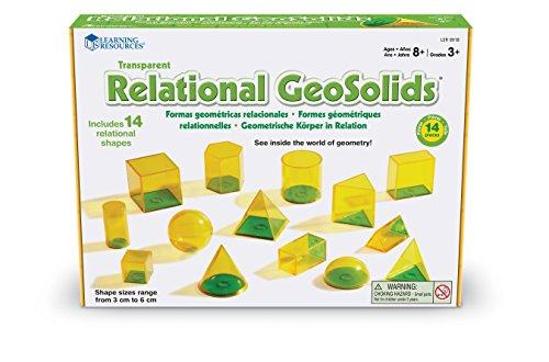 Learning- Figuras relacionadas GeoSolids Resources, Color (LER0918)