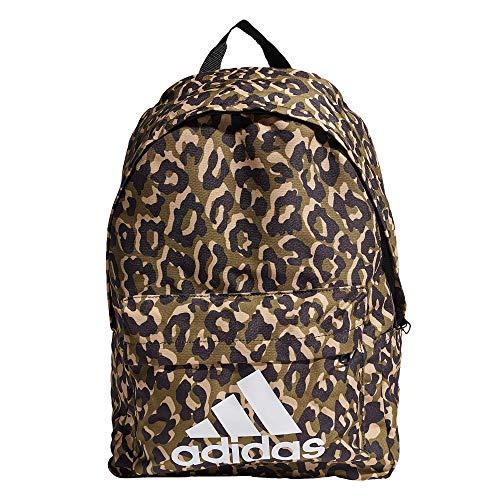 adidas GP4461 BOS BP LEOPARD Sports backpack womens multicolor/black/hazy beige/white NS