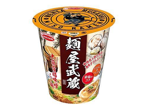 【販路限定品】エースコック 麺屋武蔵監修 大蒜背脂味噌ら~麺 102g×12個