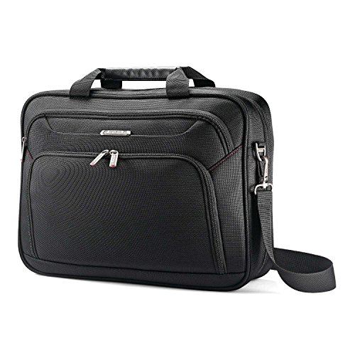 Samsonite Xenon 3.0 Gusset Check-Point Friendly Tech Locker Brief, Black, Single