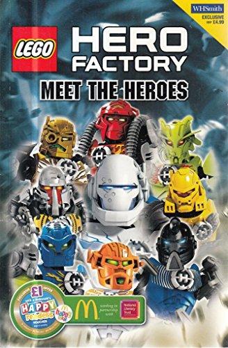 Lego Hero Factory Meet The Heroes Storybook
