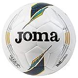 JOMA BALÓN FÚTBOL SALA HYBRID-SALA 400356.308 - T/62 cm, BLANCO/VERDE/NARANJA (308)
