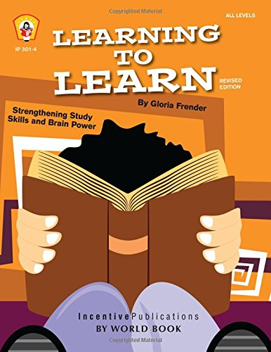 Compare Textbook Prices for Learning to Learn: Strengthening Study Skills and Brain Power TRES 3 Edition ISBN 9781629500003 by Frender, Gloria,Drayton, Marta,March, Janet