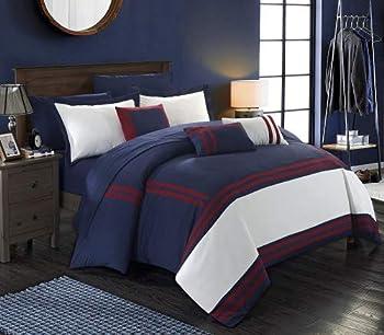 10-Piece Chic Home Zarah Complete Bed Comforter Set