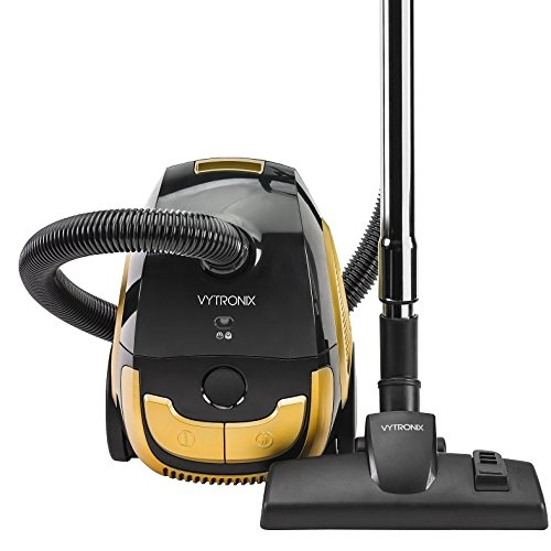 VYTRONIX BGGC01 Compact Powerful Turbo Bagged Cylinder Vacuum Cleaner Hoover
