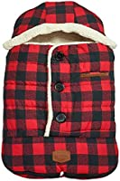 JJ Cole - Urban Bundleme, Canopy Style Bunting Bag to Protect Baby from Cold and Winter Weather in Car Seats and...