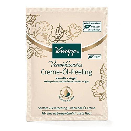 Kneipp Creme Öl Peeling, 4er Pack (4 x 40 ml)