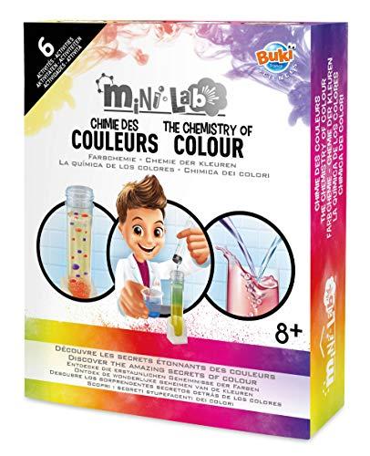 Buki France- Mini Lab Chimie des Couleurs, 3013, Autre