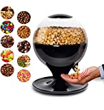 LXT PANDA Candy Dispenser/Bean Dispenser Machine, Mini Automatic Touchless Candy Snack Dispenser for Small Gumballs, Nuts, Snacks, Easy Fill Treat Canister for Kids.