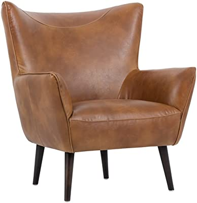 Sunpan Modern 5West Occasional Chairs, Tobacco Tan