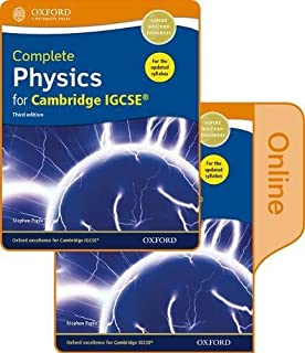 Complete Physics for Cambridge IGCSE® Print and Online Student Book Pack: Third Edition