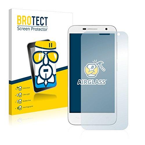 BROTECT Panzerglas Schutzfolie kompatibel mit Alcatel One Touch Idol 2 Mini 6016D - 9H Extrem Kratzfest, Anti-Fingerprint, Ultra-Transparent