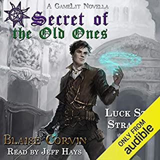 Luck Stat Strategy audiobook cover art
