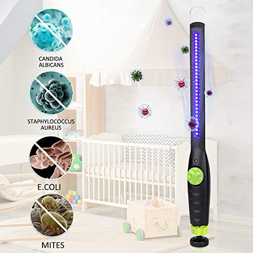 Airymap 30 LED Handheld UV Desinfektion Sterilisations Lampe, Tragbare UV-Sterilisator Lampe 99% Antibakterielle Rate Bakterien Schimmelpilze den Hausgebrauch Desinfektionsmittel