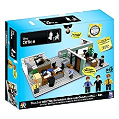 In the box: a 369-piece buildable set of the Dunder Mifflin office, plus 3 collectable minifigures featuring fan favorites from The Office cast 3 collectable minifigures: Michael, Dwight, and Jim; each with their own iconic workspace Authentic to the...