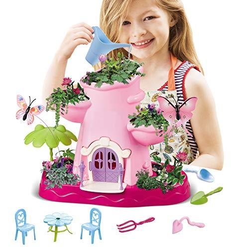 Vokodo Kids Magical Garden Growing Kit Includes Tools Seeds Soil...