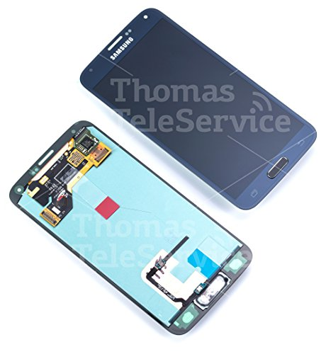 LCD Display Touchscreen in Schwarz / Black GH97-15959B für Samsung Galaxy S5 SM-G900F G900F