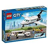 LEGO City - Aeropuerto: Servicio VIP, Set de Construcción con Avión y Limusina de Juguete (60102)