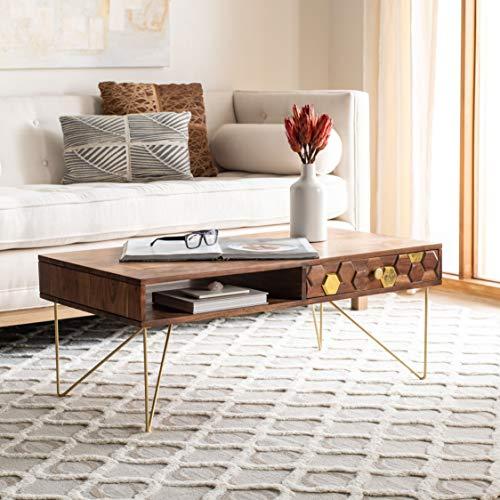 47 Oval Coffee Table, American Walnut