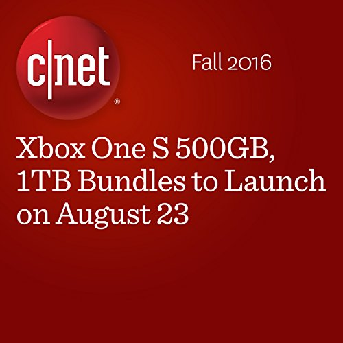 Xbox One S 500GB, 1TB Bundles to Launch on August 23 cover art