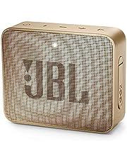 JBL GO 2 kleine muziekbox - waterdichte, draagbare bluetooth-luidspreker met handsfree functie - tot 5 uur muziekgenot met slechts één acculading champagne