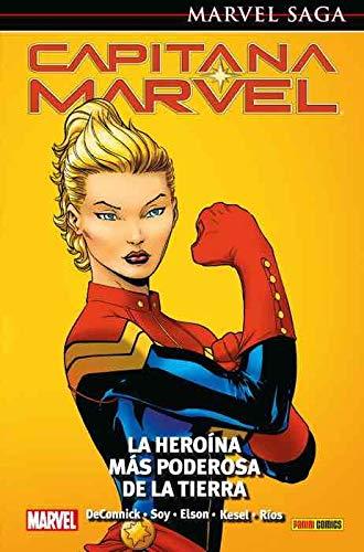 Capitana Marvel 1. La heroína más poderosa de la Tierra: LA HEROÍNS MÁS PODEROSA DE LA TIERRA (MARVEL SAGA)