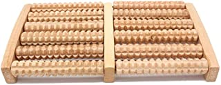 Wooden Foot Feet Roller Wood Care Massage Reflexology Relax Relief Massager Spa Foot Care Product Relieve Plantar Fasciiti...