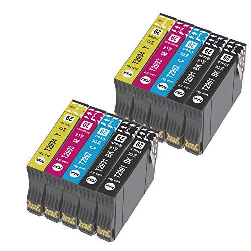 OGOUGUAN Reemplazo de Cartucho de Tinta Compatible para 29XL 29 for Expression Home XP-235 XP-245 XP-247 XP-330 XP-332 XP-335 XP-342 XP-345 XP-430 XP-432 XP-435 (10 Paquete)