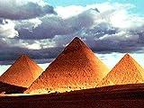世界遺産エジプト メンフィスとその墓地遺跡ギーザのピラミッド地帯/他