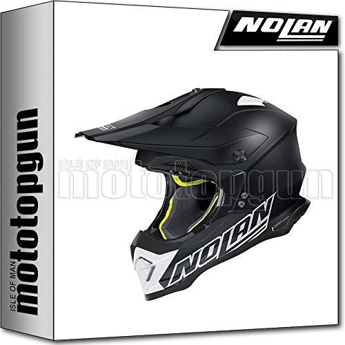 NOLAN CASCO MOTO CROSS N53 VULTUR NERO MATTO 059 TG. XXL