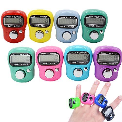 Stonges elektronischer Handstückzähler, 5-stellig, LCD-Anzeige, zurücksetzbar, verschiedene Farben