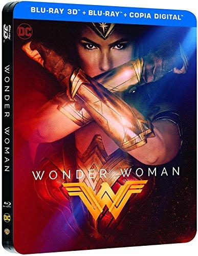 Wonder Woman Blu-Ray 3d Steelbook [Blu-ray]