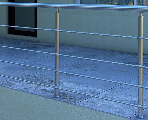 Pack MEGALUXFRANCE Garde-corps en aluminium Gamme GUISE (Aluminium, 2 mètres)