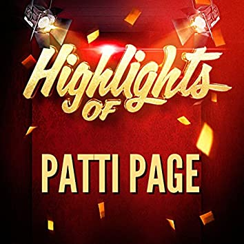 Highlights of Patti Page