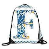 1Zlr2a0IG Drawstring Backpacks Bags,Japanese Tree In Jungle Abstract Nature In Summer Season,5 Liter Capacity,Adjustable Fashion1706
