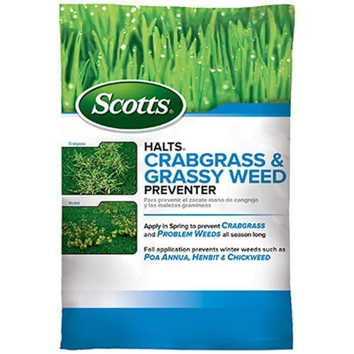 Scotts Halts Crabgrass & Grassy Weed Preventer (10,000sq-ft)