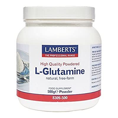 Lamberts L-Glutamine Powder, 500g