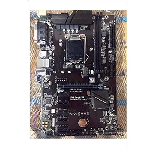 Fit for Gigabyte GA-H110-D3A H110-D3A H110 LGA 1151 Soporte 2 * DDR4 32G 4 * SATA3 1 * M.2 Placa Base de Escritorio ATX(Color:A)