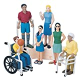 Marvel Education Friends with Diverse Abilities Figure Set, Inclusive Doll Set of 6 for Ages 3 and Up