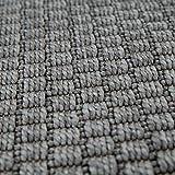 Paco Home In- & Outdoor Flachgewebe Teppich Terrassen Teppiche Natürlicher Look In Grau, Grösse:80x150 cm - 5