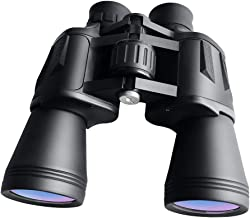 WHHW 10 x 50 Powerful HD Binoculars for Adults, Binoculars for Travel Sightseeing Hunting Bird Watching,Waterproof High Ma...