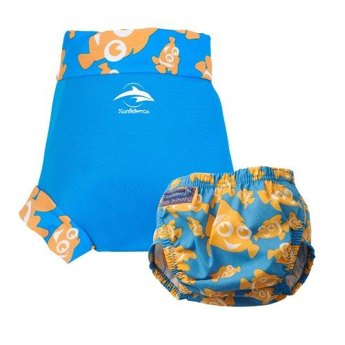 Konfidence Swim Nappy e NeoNappy Clownfish Small–da 3a 6mesi