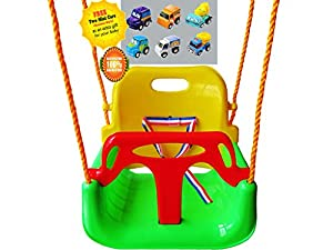 Infant to Toddler New Version Swing Set Anti-flip Snug & Secure Detachable for Sale