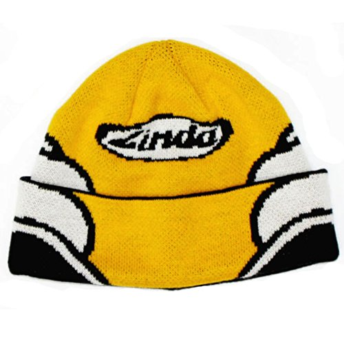 RINDA(リンダ) ヘルメット PTTN ニット キャップ KENNY YELLOW FREE 146007